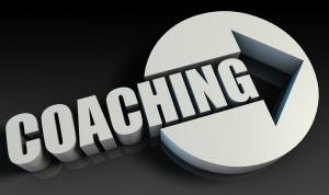 Coaching Concept With an Arrow Going Upwards 3D