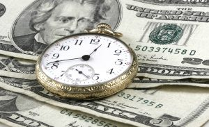 Pocket Watch, US Currency, And Skeleton Key